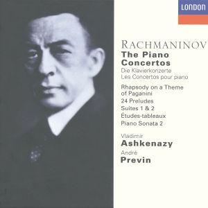 ASHKENAZY, VLADIMIR (piano) - THE PIANO CONCERTOS (complete)