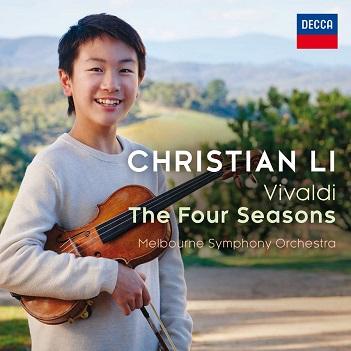 LI, CHRISTIAN - VIVALDI: THE FOUR SEASONS