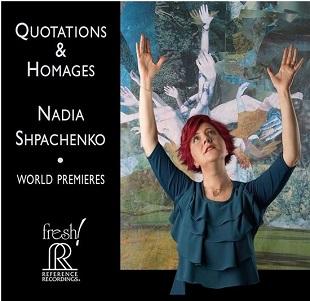 SHPACHENKO, NADIA - QUOTATIONS & HOMAGES