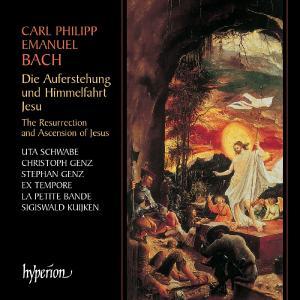 BACH, CARL PHILIPP EMANUEL - Die Auferstehung und Himmelfahrt Jesu (Resurrection and Ascension of Jesus)