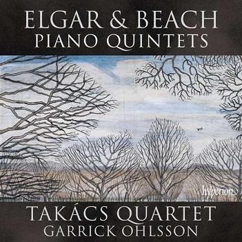 TAKACS QUARTET - ELGAR & BEACH PIANO QUINT