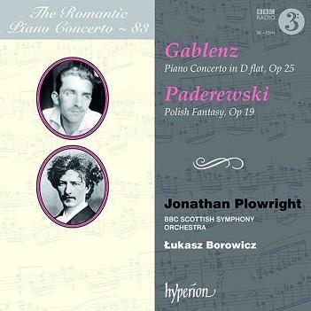 PLOWRIGHT, JONATHAN - ROMANTIC PIANO CONCERTO..