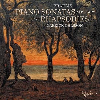 OHLSSON, GARRICK - BRAHMS PIANO SONATAS..