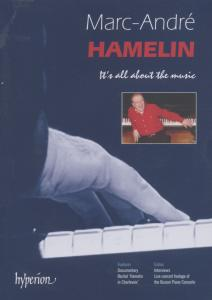HAMELIN, MARC-ANDRE - IT'S ALL ABOUT THE MUSIC