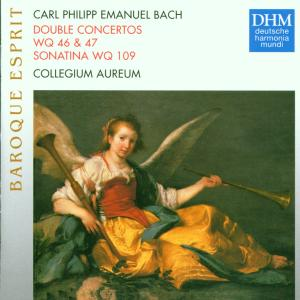BACH, CARL PHILIPP EMANUEL - DOUBLE CONCERTOS Wq. 46 & 47 & SONATINA Wq. 109