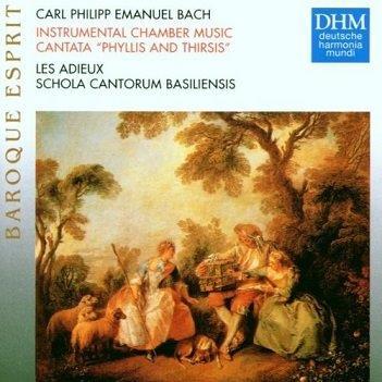 BACH, CARL PHILIPP EMANUEL - INSTRUMENTAL CHAMBER MUSIC, CANTATA PHYLLIS AND THIRSIS