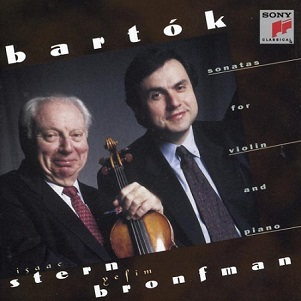 BARTOK - SONATAS FOR VIOLIN AND PIANO 1 & 2