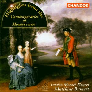 MOZART, WOLFGANG AMADEUS - HIGHLIGHTS FROM THE CONTEMPORARIES OF MOZART SERIES