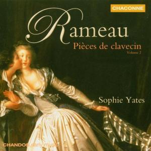JEAN-PHILIPPE RAMEAU - PIECES DE CLAVECIN VOLUME 2