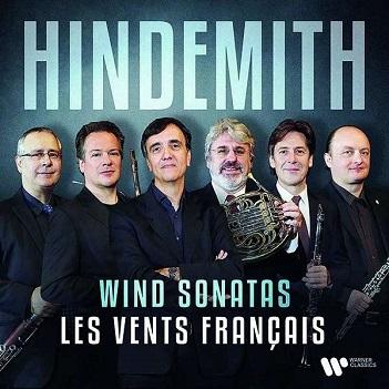 LES VENTS FRANCAIS - HINDEMITH: WIND SONATAS