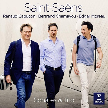 CAPUCON, RENAUD/BERTRAND - SAINT-SAENS: SONATE & TRI