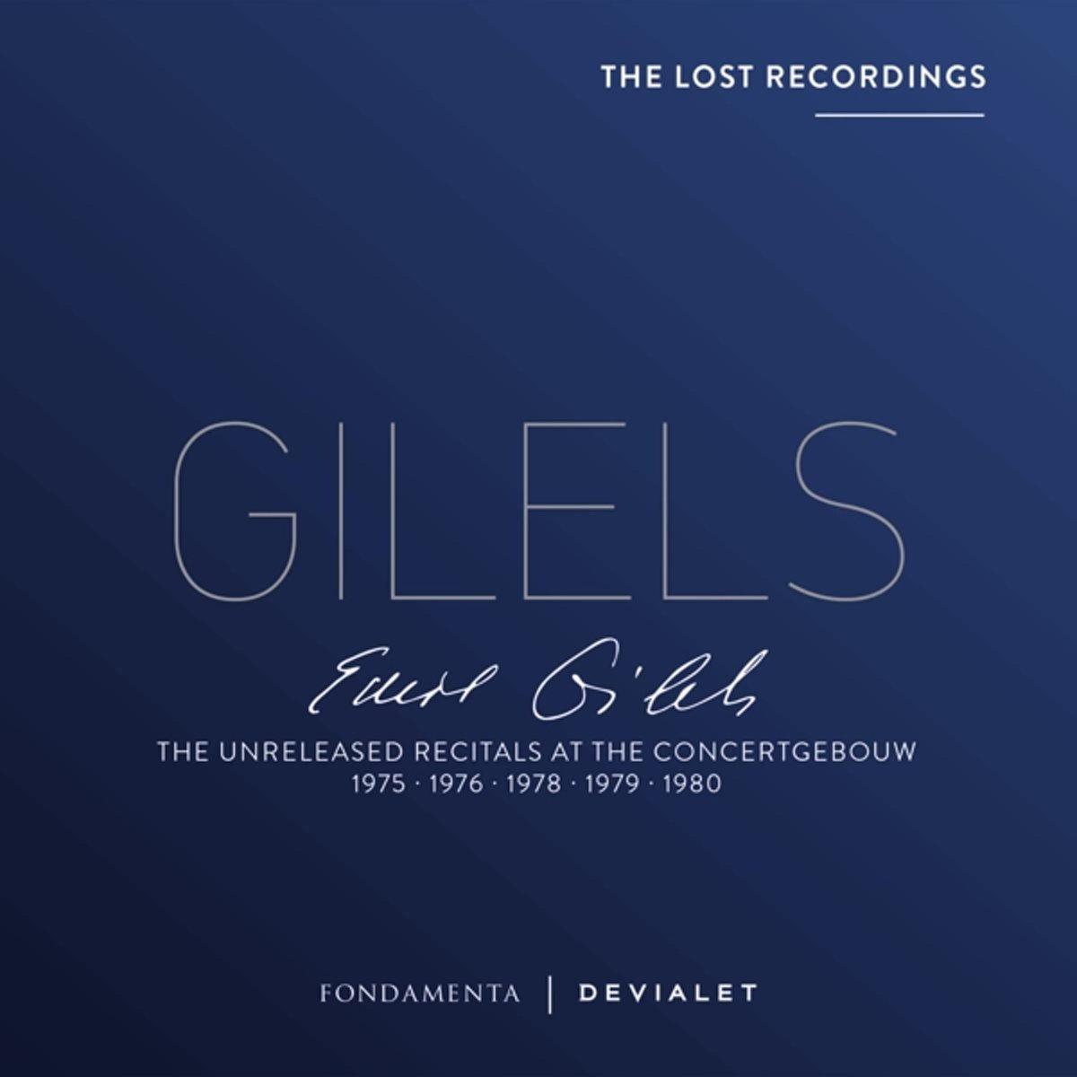 GILELS, EMIL - UNRELEASED.. -BOX SET-