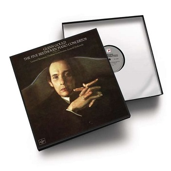 GOULD, GLENN - BEETHOVEN: THE FIVE PIANO