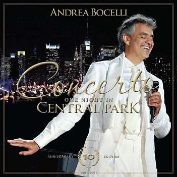 BOCELLI, ANDREA - CONCERTO:.. -ANNIVERS-
