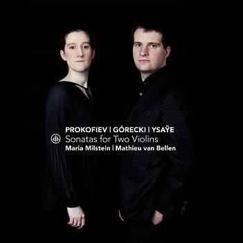 MILSTEIN, MARIA/MATHIEU V - SONATAS FOR TWO VIOLINS