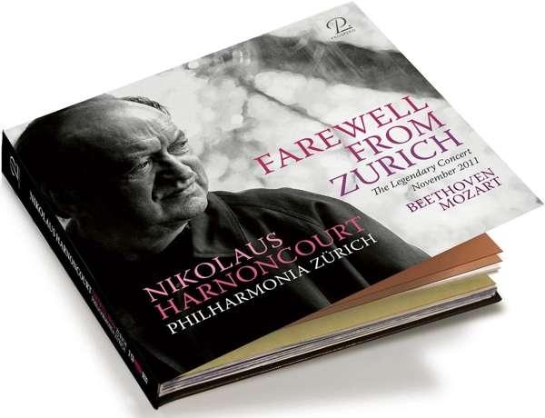 HARNONCOURT, NIKOLAUS - FAREWELL FROM ZURICH