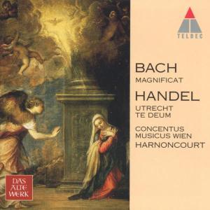 BACH / HANDEL - MAGNIFICAT BWV 243 / 'UTRECHT' TE DEUM HWV 278