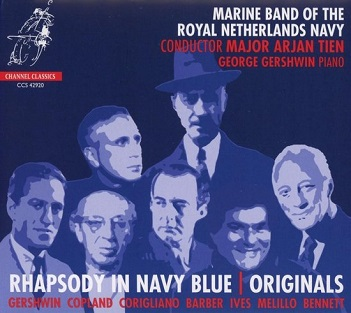 MARINE BAND OF THE ROYAL NETHERLANDS NAVY - RHAPSODY IN NAVY BLUE -..