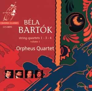 BARTOK, B. - STRING QUARTETS 1-3-4 V.1