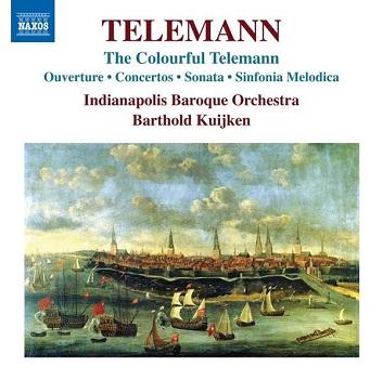TELEMANN, G.P. - COLOURFUL TELEMANN