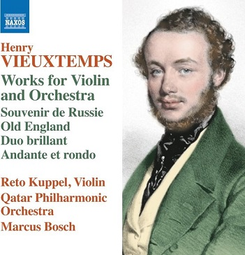 VIEUXTEMPS, H. - WORKS FOR VIOLIN AND ORCH