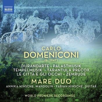 DOMENICONI, C. - WORKS FOR MANDOLIN AND..