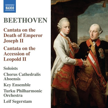 BEETHOVEN, L. VAN - CANTATA ON THE DEATH OF E