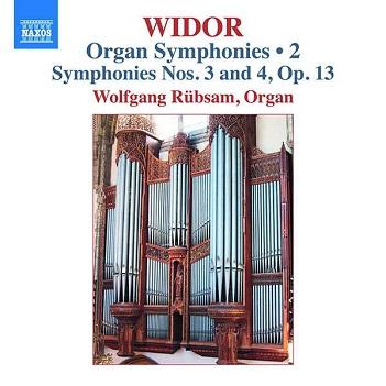 WIDOR, C.M. - ORGAN SYMPHONIES VOL.2