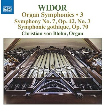 WIDOR, C.M. - ORGAN SYMPHONIES VOL.3