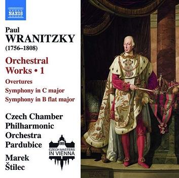 CZECH CHAMBER PHILHARMONI - PAUL WRANITZKY: ORCHESTRA