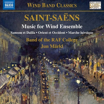 BAND OF THE RAF COLLEGE - SAINT-SAENS: MUSIC FOR..