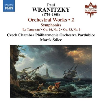 CZECH CHAMBER PHILHARMONI - WRANITZKY: ORCHESTRAL..