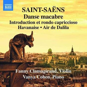CLAMAGIRAND, FANNY / VANY - SAINT-SAENS: DANSE..
