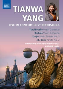YANG, TIANWA - LIVE IN CONCERT ST.PETERS