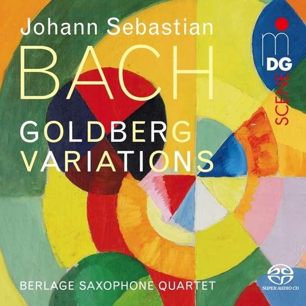 BERLAGE SAXOPHONE QUARTET - BACH GOLDBERG.. -SACD-
