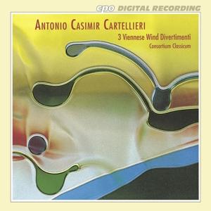 CARTELLIERI, ANTONIO CASIMIR - VIENNESE WIND DIVERTIMENTI: DIVERTIMENTO No. 1, 2 & 3
