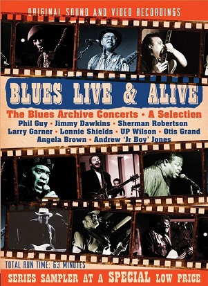 V/A - BLUES LIVE & ALIVE. THE..