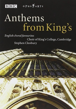 KING'S COLLEGE CHOIR CAMBRIDGE - ANTHEMS FROM KING'S