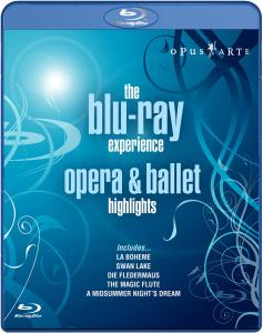 Opera & Ballet highlights - BLU-RAY EXPERIENCE