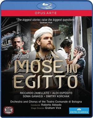 ROSSINI, G. - MOSE IN EGITTO