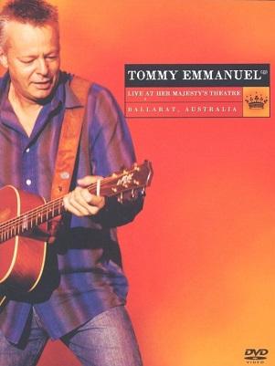 EMMANUEL, TOMMY - LIVE AT HER MAJESTY'S