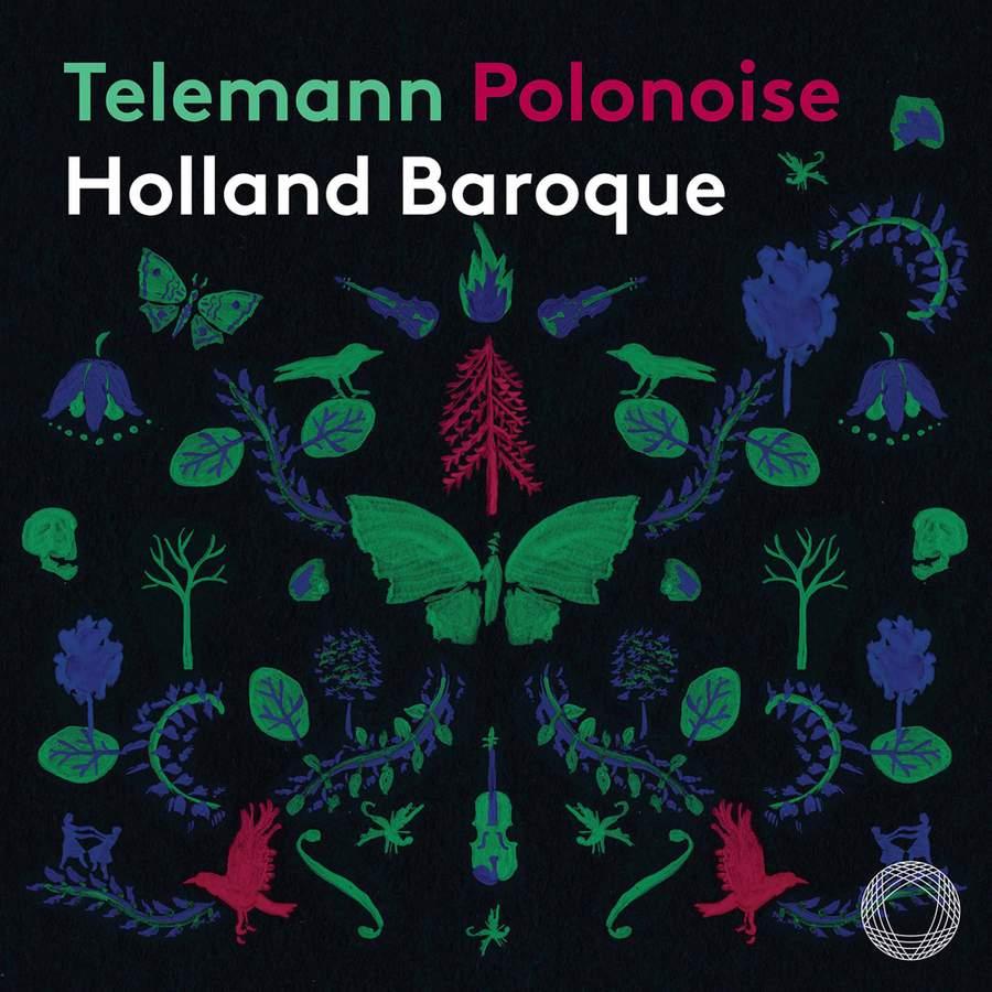 HOLLAND BAROQUE / NOSKY - TELEMANN POLONOISE -SACD-