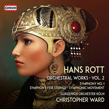 WARD, CHRISTOPHER - HANS ROTT: ORCHESTRAL..