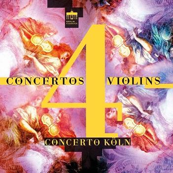 CONCERTO KOLN - CONCERTOS 4 VIOLINS