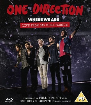 ONE DIRECTION - WHERE WE ARE: LIVE FROM..
