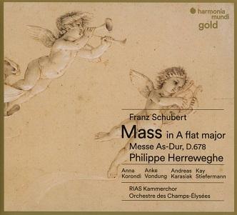 SCHUBERT, F. - MASS IN A FLAT MAJOR