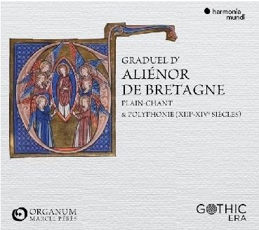 ENSEMBLE ORGANUM - GRADUEL D'ALIENOR DE BRET