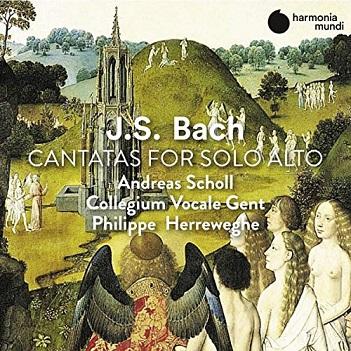 BACH, J.S. - CANTATAS FOR SOLO ALTO