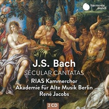 RIAS KAMMERCHOR / RENE JACOBS - BACH: SECULAR CANTATAS