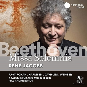 JACOBS, RENE / RIAS KAMME - BEETHOVEN MISSA SOLEMNIS